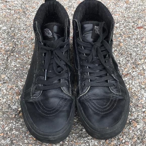 Vans Shoes | Vans Sk8 Hi Mte Black